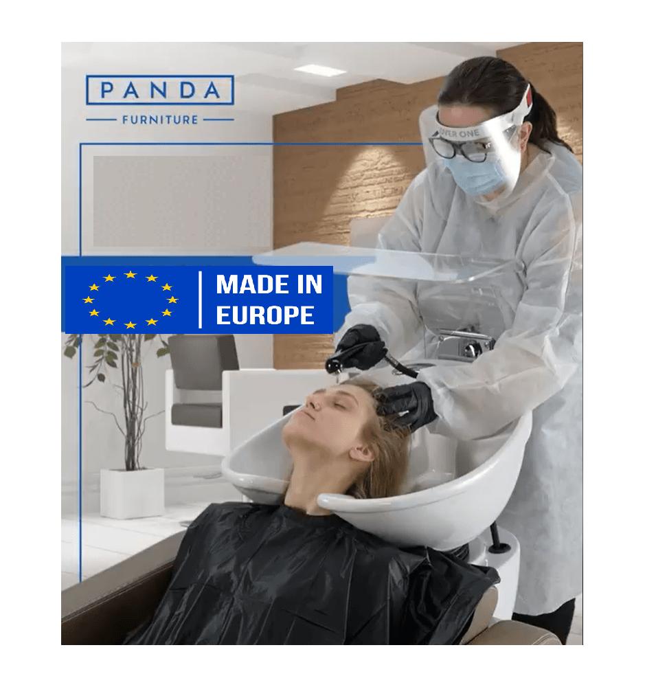 Flexibelt Plexiskydd för Schamponering och Britsar Made in Europe