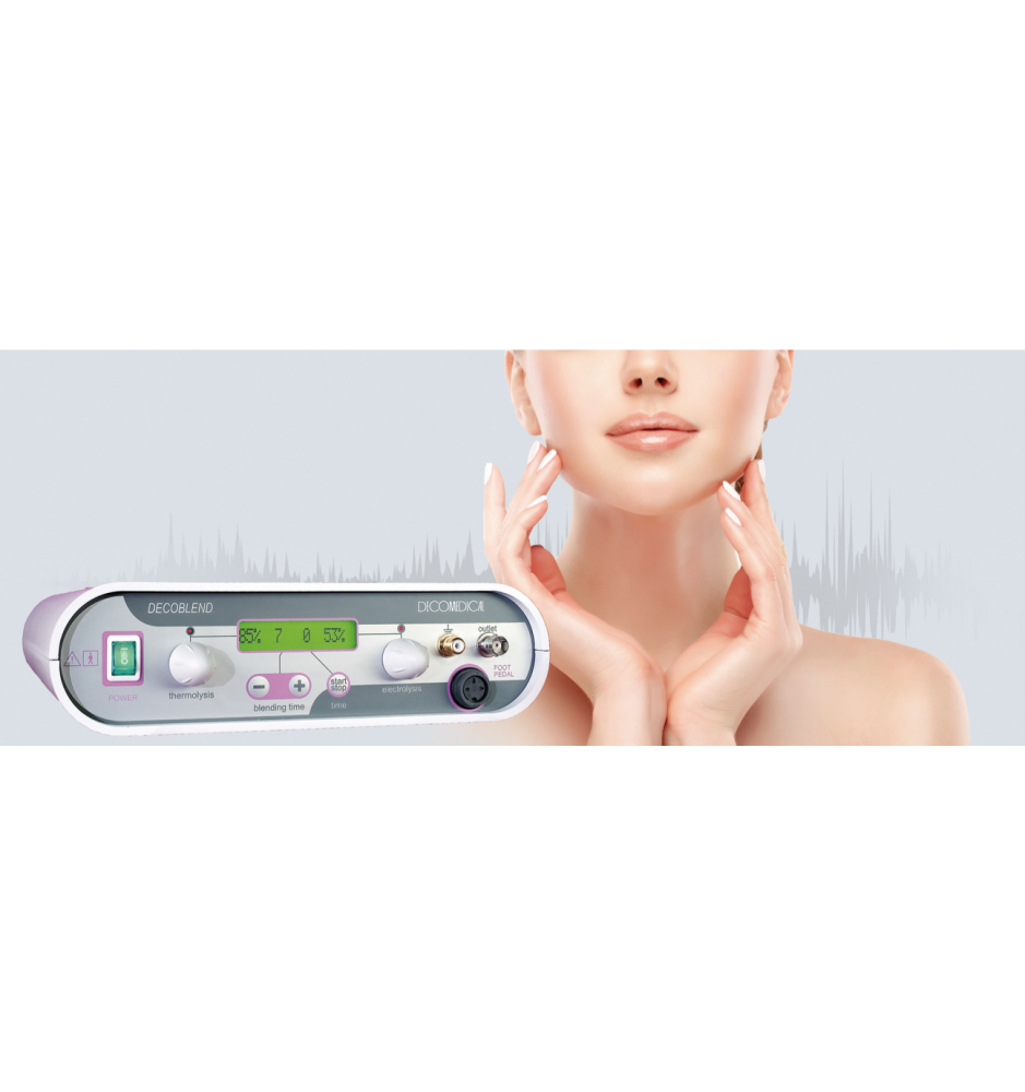 Depil System Dec32 thermolysis & electrolysis  Hela KroppenMade in Italy Hair removal